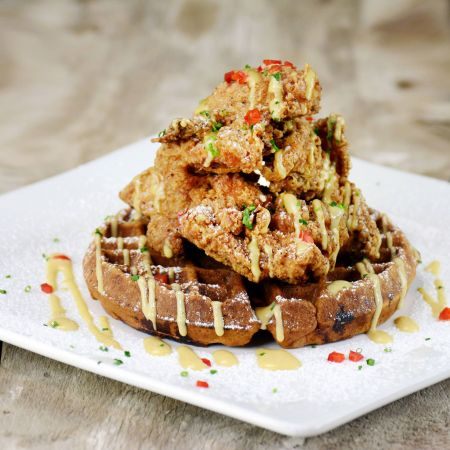 Rooster's Southern Kitchen, Hippie Chicken 'n Waffles