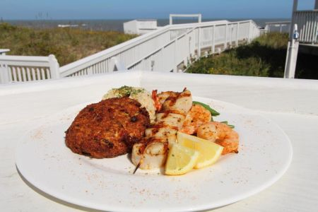 Peppercorns Restaurant and Lounge, Outer Banks Seafood Sampler
