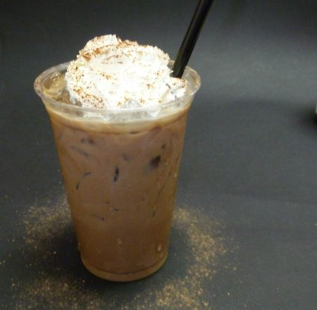 Outer Banks Coffee Company, Iced Latte