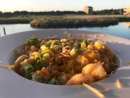 Open Water Grill: Hatteras Restaurant Avon NC, Crab Mac 'n Cheese