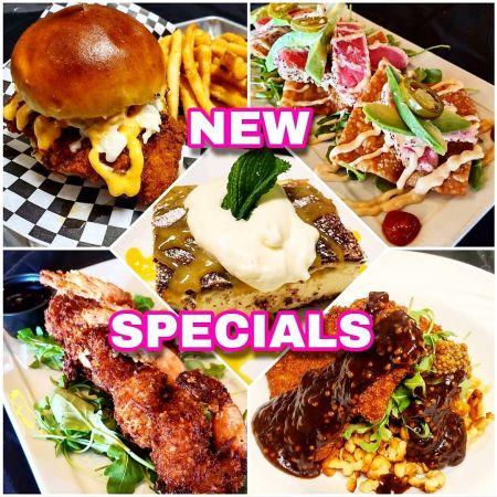 Sundogs Raw Bar & Grill, New Specials Every Week