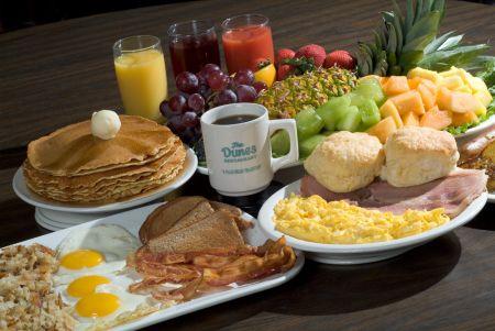 The Dunes Restaurant Nags Head, Award-Winning Breakfast & Fresh Fruit Bar