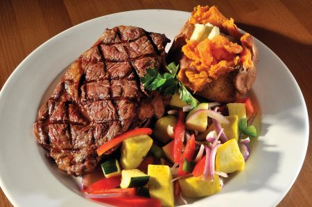 The Dunes Restaurant Nags Head, Hand Cut 12-oz. Ribeye