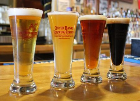 Outer Banks Brewing Station, The Flight