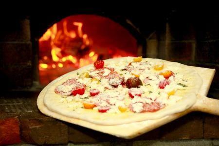 Dajio Restaurant, Wood-Fired Brick Oven Flatbread Pizza