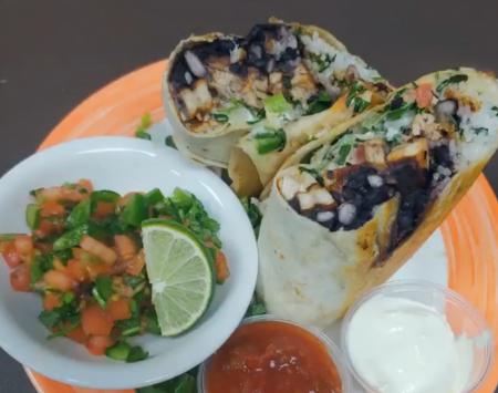 The Dunes Restaurant Nags Head, Wednesday Chicken Burrito Special