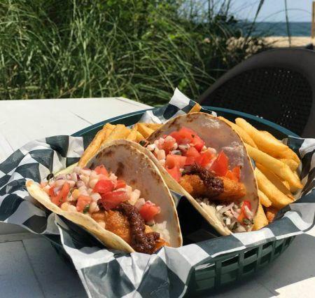 Beachside Bistro, Fish Tacos