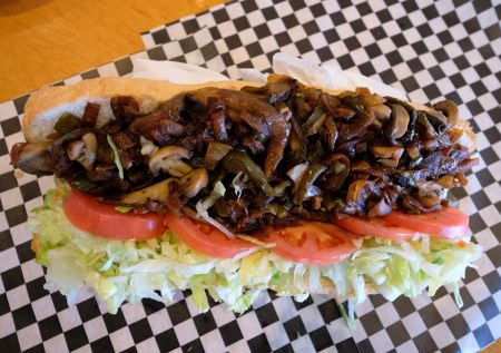 Philly Steak Subs, Veggie