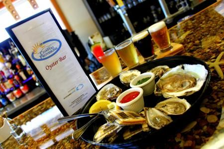 Coastal Provisions, Half Price Oysters