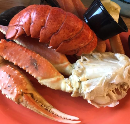 Jimmy's Seafood Buffet, AYCE Lobster Tail