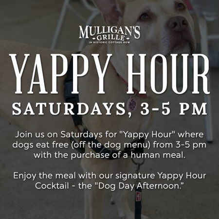 Mulligan's Grille, Yappy Hour