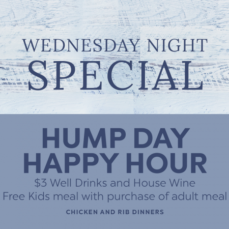 Mulligan's Grille, Wednesday Hump Day Happy Hour