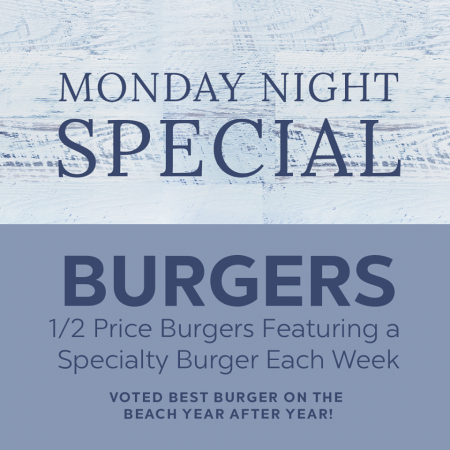 Mulligan's Grille, Monday Burger Night