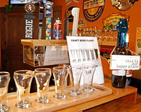 Chip's Wine, Beer & Cigars, Try a Draft Beer Sampler