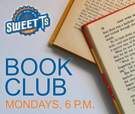 Sweet T's Coffee, Beer & Wine, Book Club Mondays