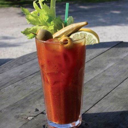 Gaffer's Restaurant on Ocracoke Island, $3 Stella and $6 Bloody Marys