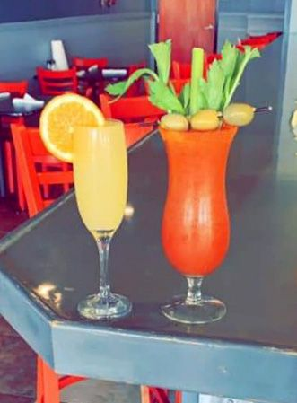 Sandbars Raw Bar & Grill Outer Banks, Saturdays: $5 Mimosas & Bloodys