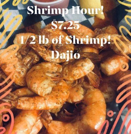 Dajio Restaurant, Shrimp Hour