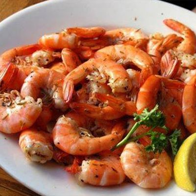 Good Winds Restaurant, Steamed Shrimp Wednesdays