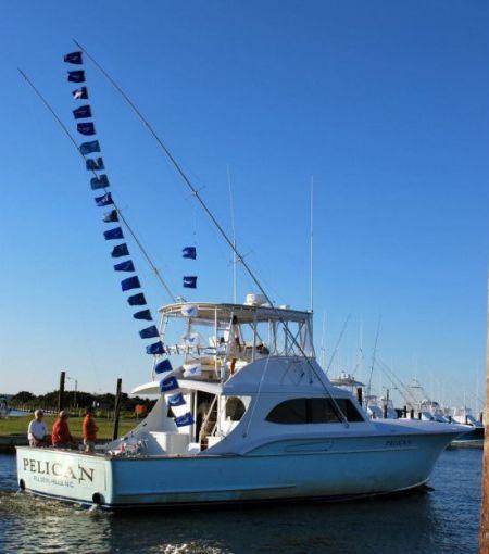Pelican captain arch bracher oregon inlet fishing for Oregon inlet fishing center