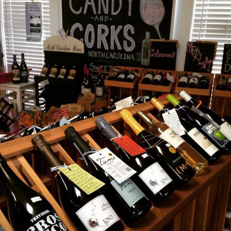 Candy & Corks, Local Wine