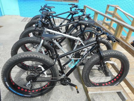 Manteo Cyclery, Fat Bikes