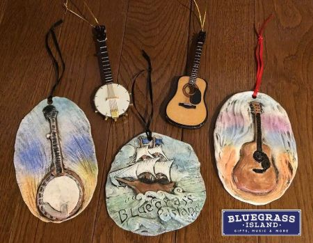 Bluegrass Island Trading Co., Music Ornaments