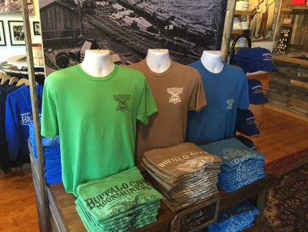 Bluegrass Island Trading Co., Bluegrass-themed T-shirts