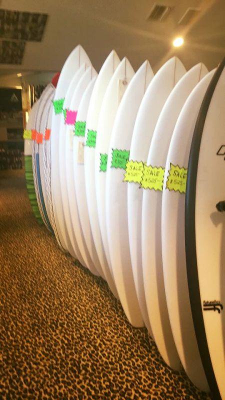 Pit Surf Shop, Surfboards