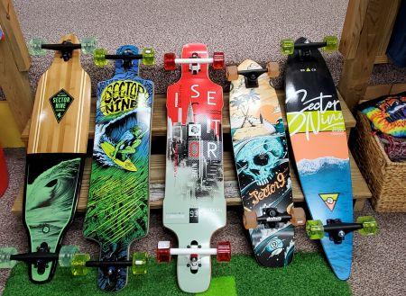 Cavalier Surf Shop, Longboard Skateboards
