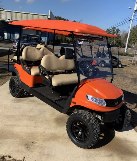Outer Banks Beach Buggies, 2021 6-passenger Low Speed Vehicle  *Sold*