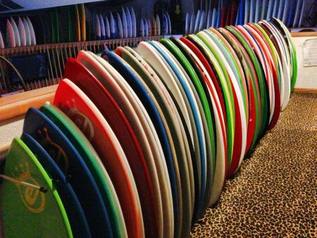 Pit Surf Shop, Skim Boards