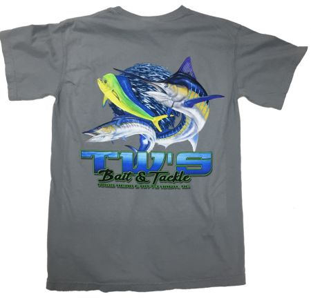 TW's Bait & Tackle, Three Fish T-Shirt