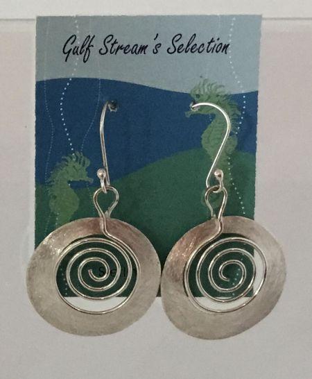 Gulf Stream Gifts, Spiral Earrings