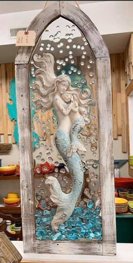 Absolutely Outer Banks, Mermaid Resin Artwork & Decor