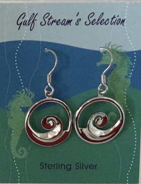 Gulf Stream Gifts, Wave earrings