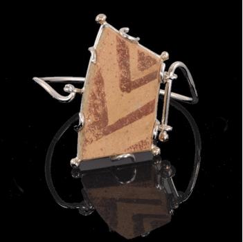 Jewelry By Gail, Anasazi Shard Bracelet