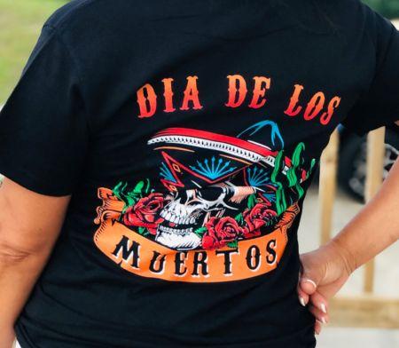 La Fogata Mexican Restaurant Kitty Hawk, Dia de los Muertos Tees