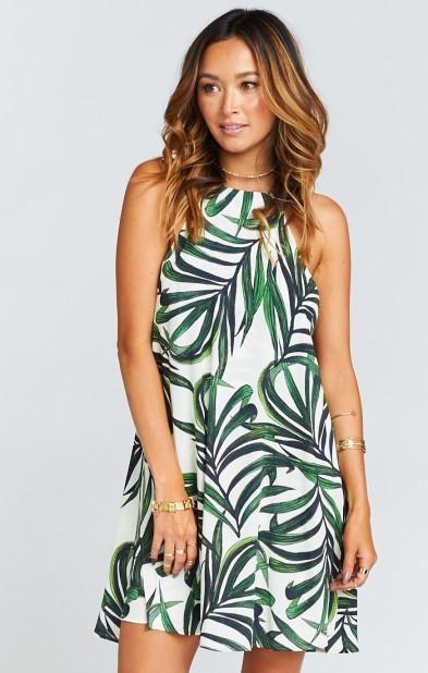 Foxy Flamingo Boutique, Byron Palm Breeze Dress