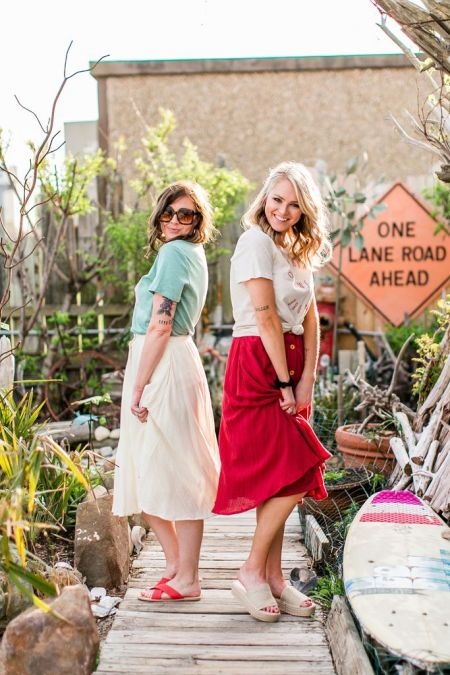 Foxy Flamingo Boutique, Build My Life Skirt