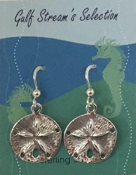 Gulf Stream Gifts, Sand Dollar Earrings