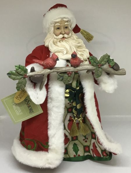 Gulf Stream Gifts, Jim Shore/Possible Dreams Cardinal Santa