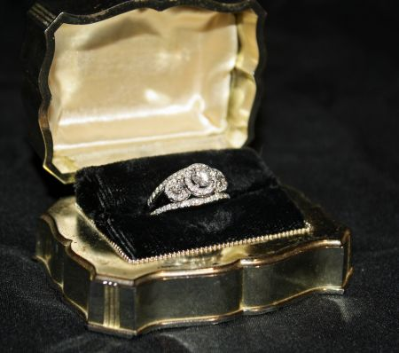 Muzzie's Fine Jewelry & Gifts, Vintage Diamond Ring