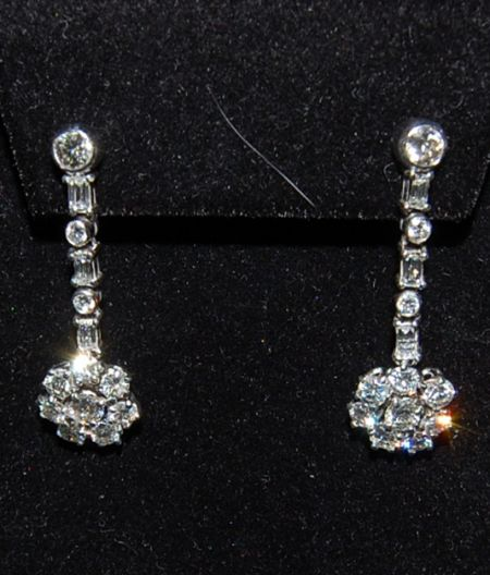 Muzzie's Fine Jewelry & Gifts, Vintage Diamond Earrings