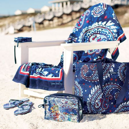 Cotton Gin, Vera Bradley® Fireworks Paisley Collection