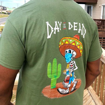 La Fogata Mexican Restaurant Kitty Hawk, Day of the Dead Tees