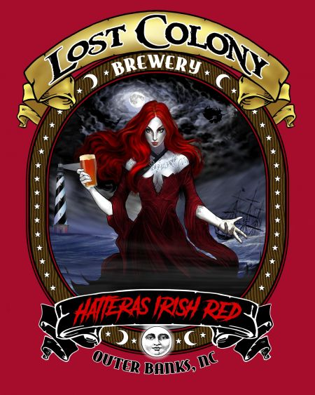 Lost Colony Brewery and Cafe, Hatteras Red T-Shirt