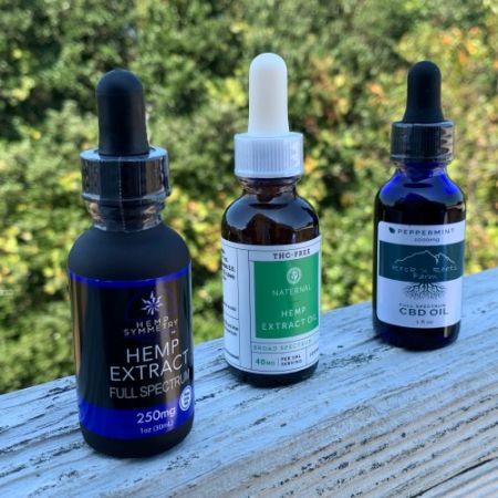 CBD Oils/Tinctures