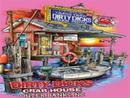 Dirty Dick's Crab House, Sunset Shack Short Sleeves