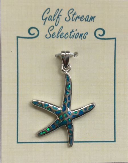 Gulf Stream Gifts, Lab created starfish pendant